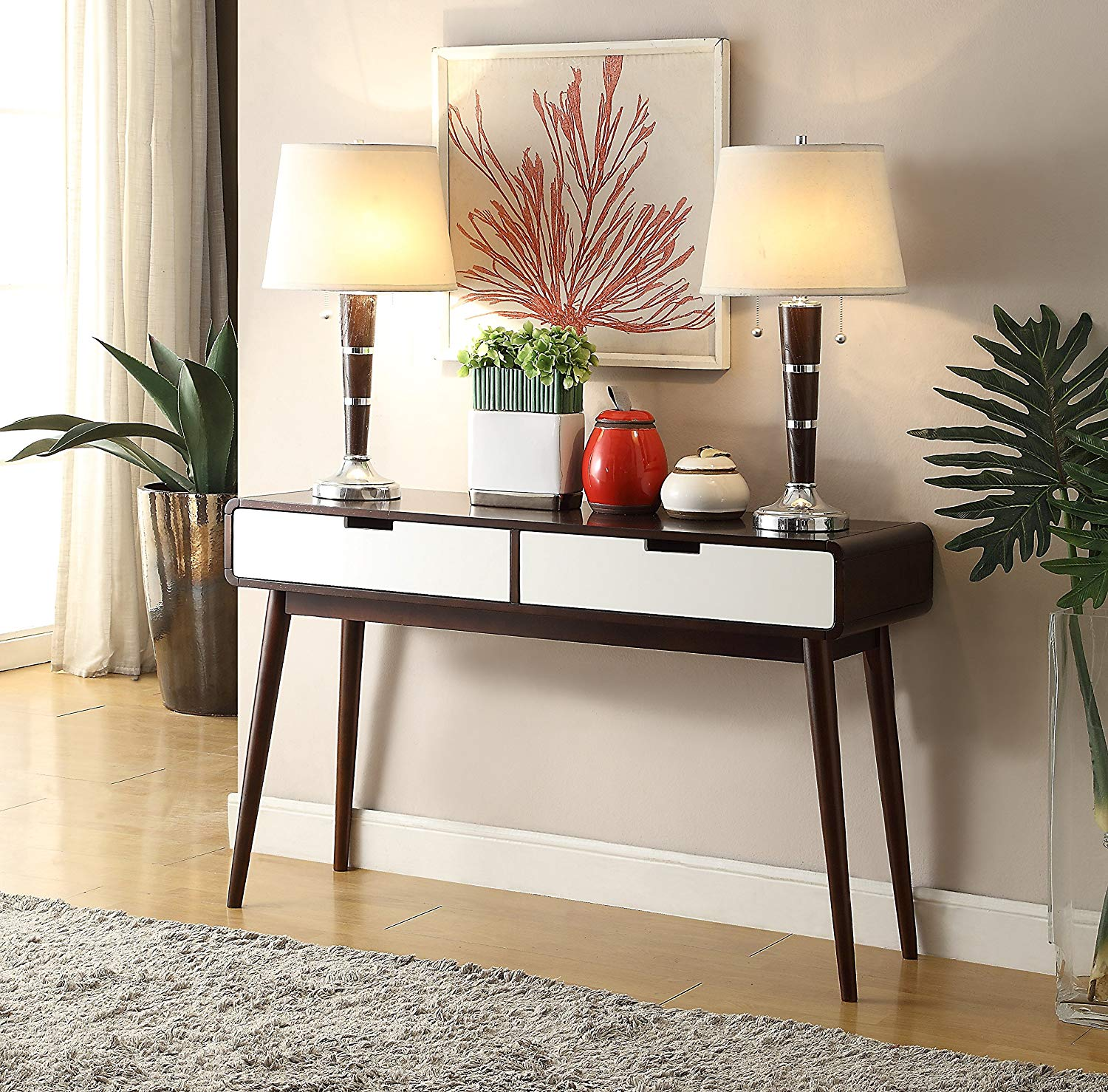 mid-century-modern-console-table-with-drawers