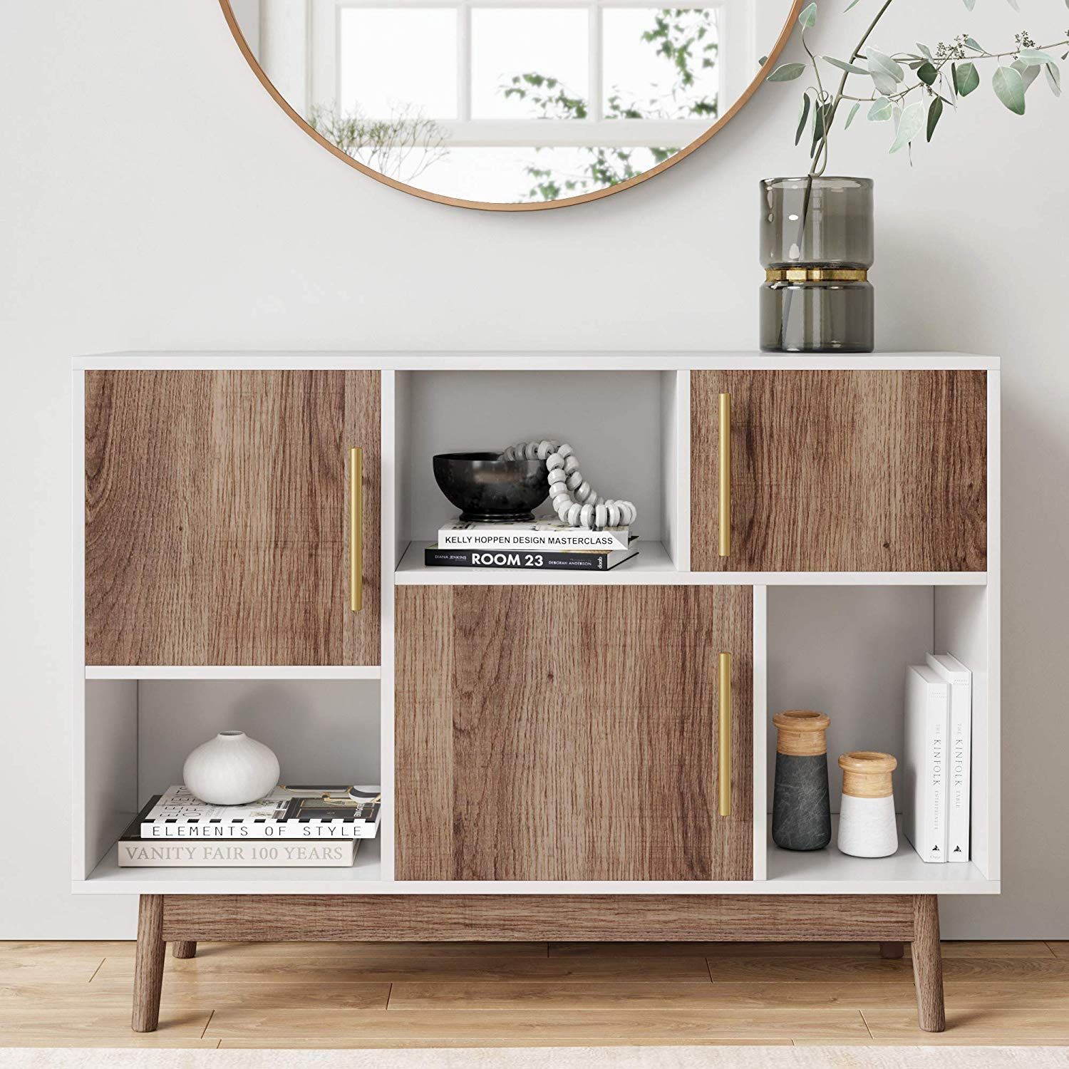 mid-century-modern-console-table-with-storage-in-brass-wood-and-white-1
