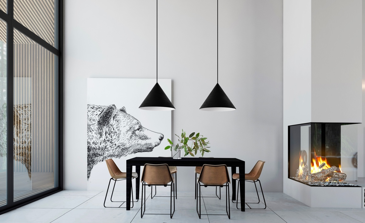 minimalist-dining-room-lighting