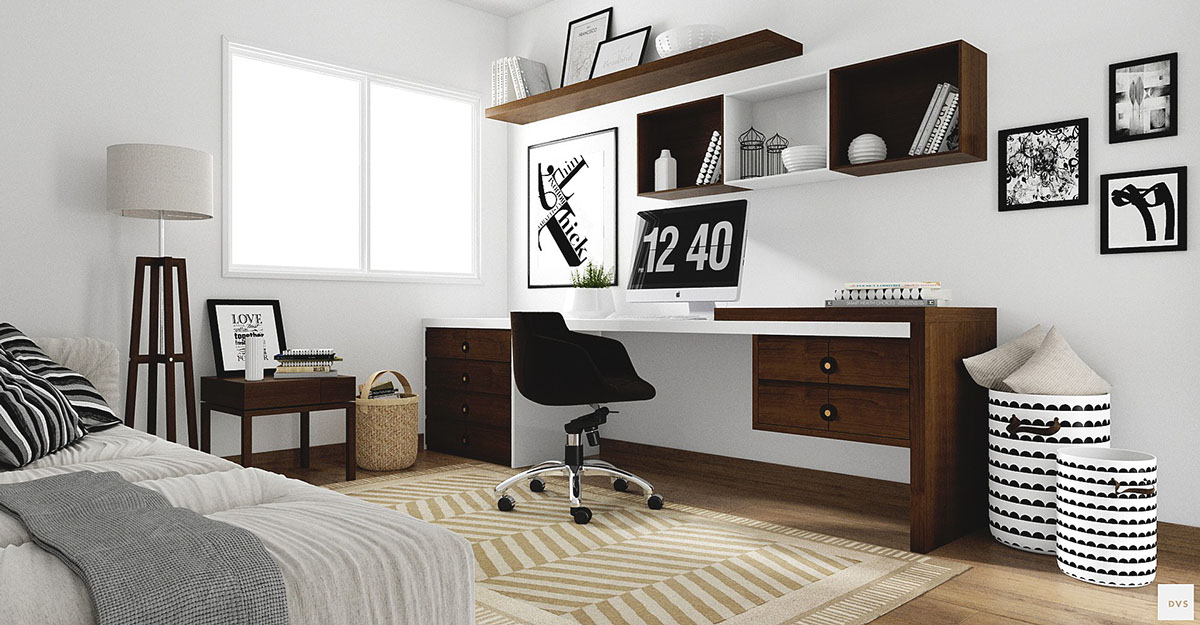 minimalist-monochrome-home-office-accessories - Awesome Decors