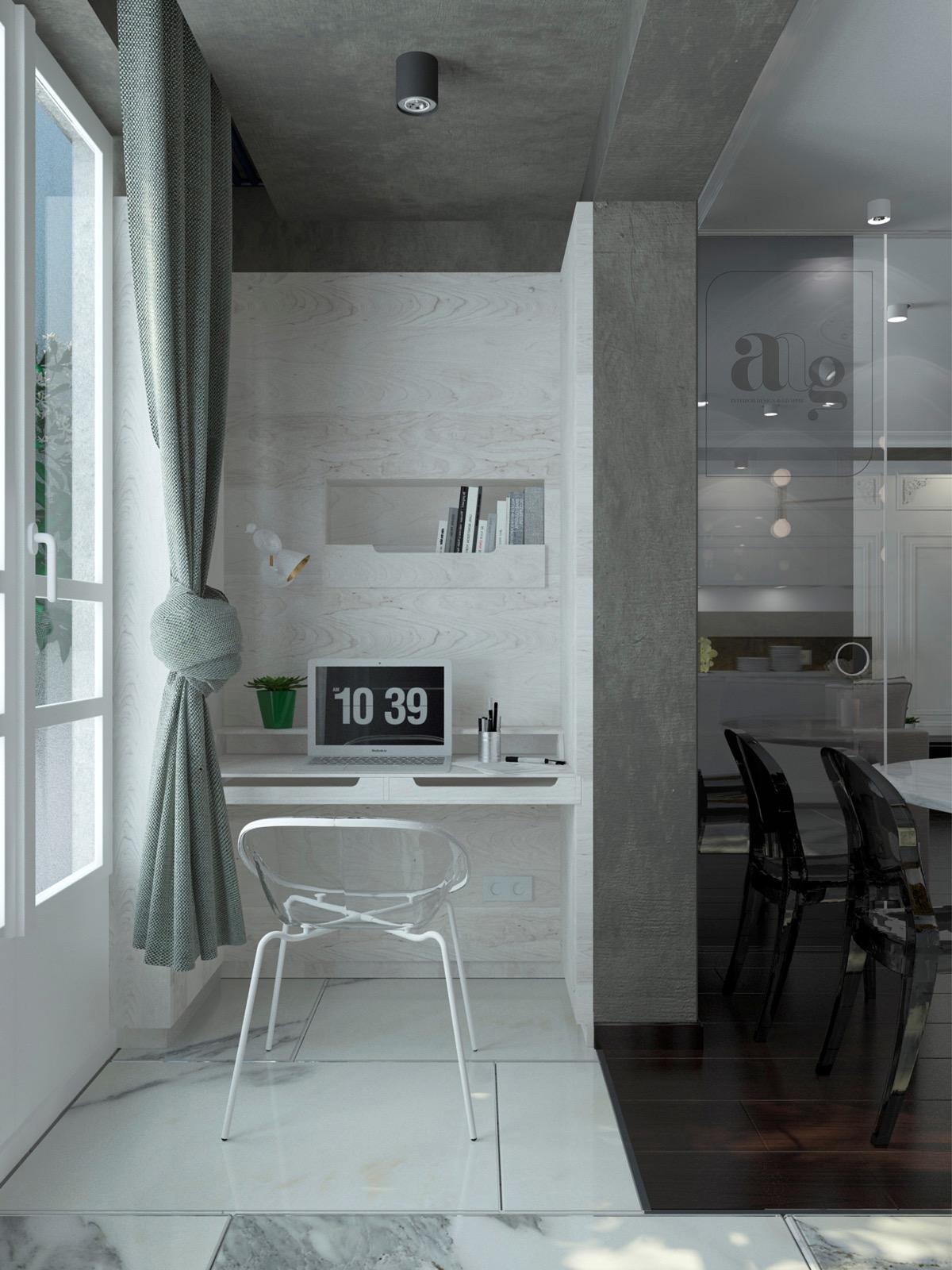 minimalist-narrow-home-office-setup