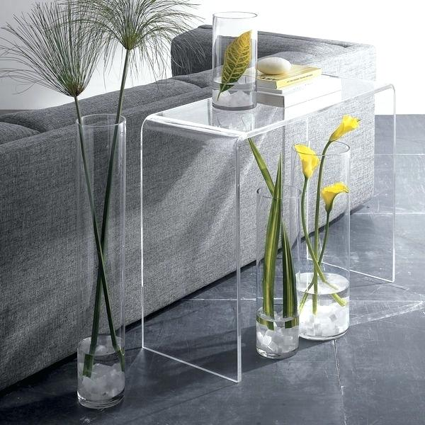 minimalist-transparent-acrylic-console-table-with-curved-waterfall-edges