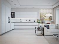 minimalist-white-and-gray-kitchen