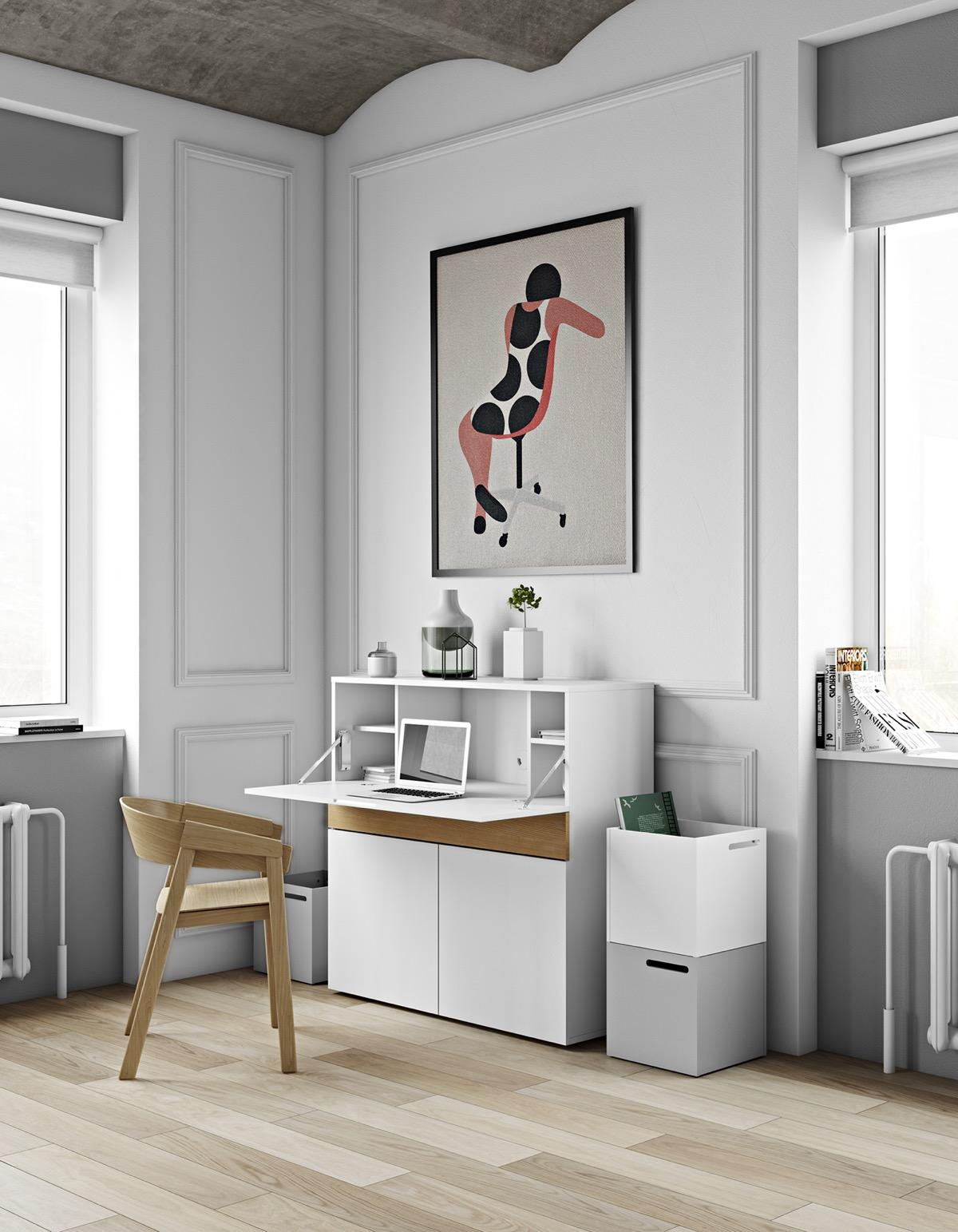 minimalist-white-home-office-desks