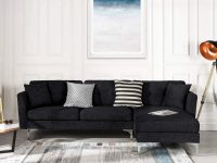 modern-black-sectional-sleeper-sofa-fabric-upholstery
