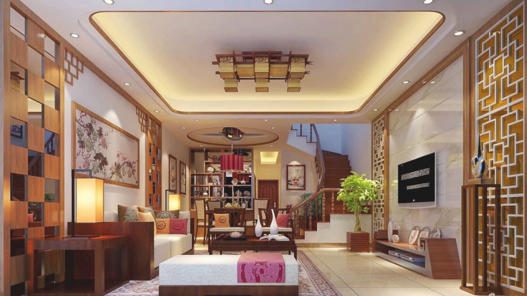 Modern Chinese Interior Design Ideas, Room Decor Design pertaining to Awesome Chinese Living Room Decor