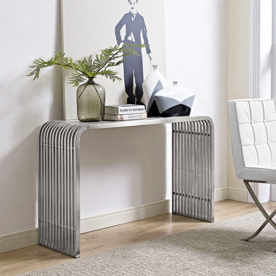 modern-metal-console-table-with-curved-sides