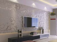 Modern Wallpaper Ideas.this Looks Awesome! | Modern within New Wallpaper Decoration For Living Room