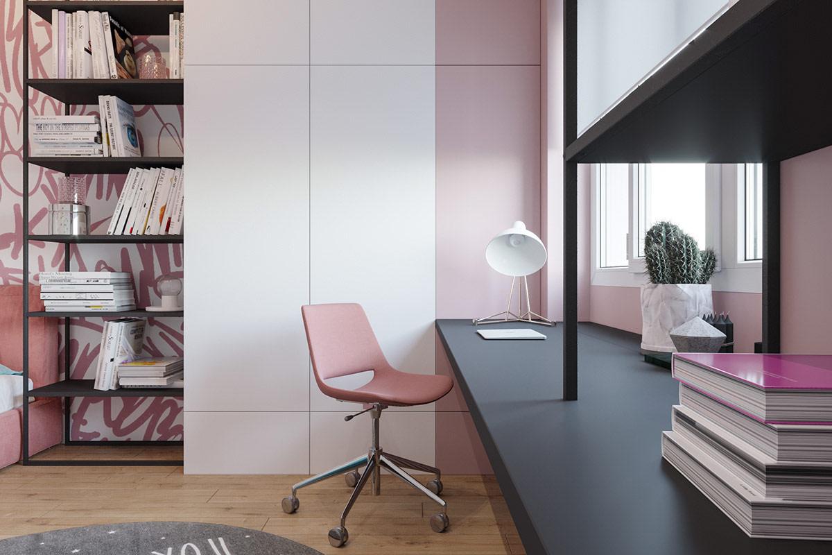 pink-desk-chair