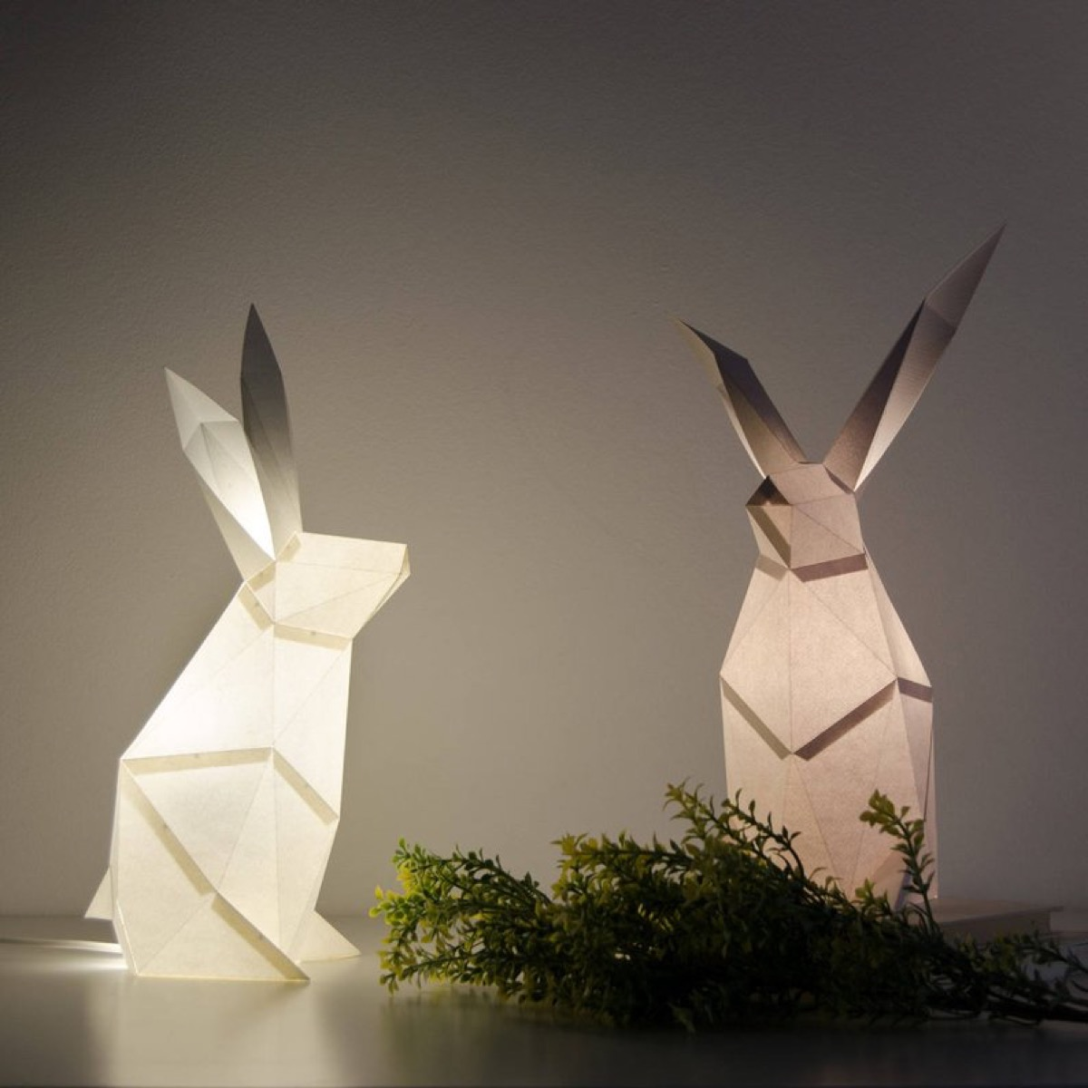rabbit-lamps