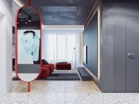 red-decorative-mirror