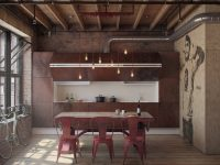 red-industrial-dining-room-chairs