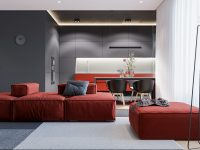 red-modern-sofa
