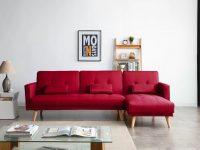 red-sectional-sleeper-sofa