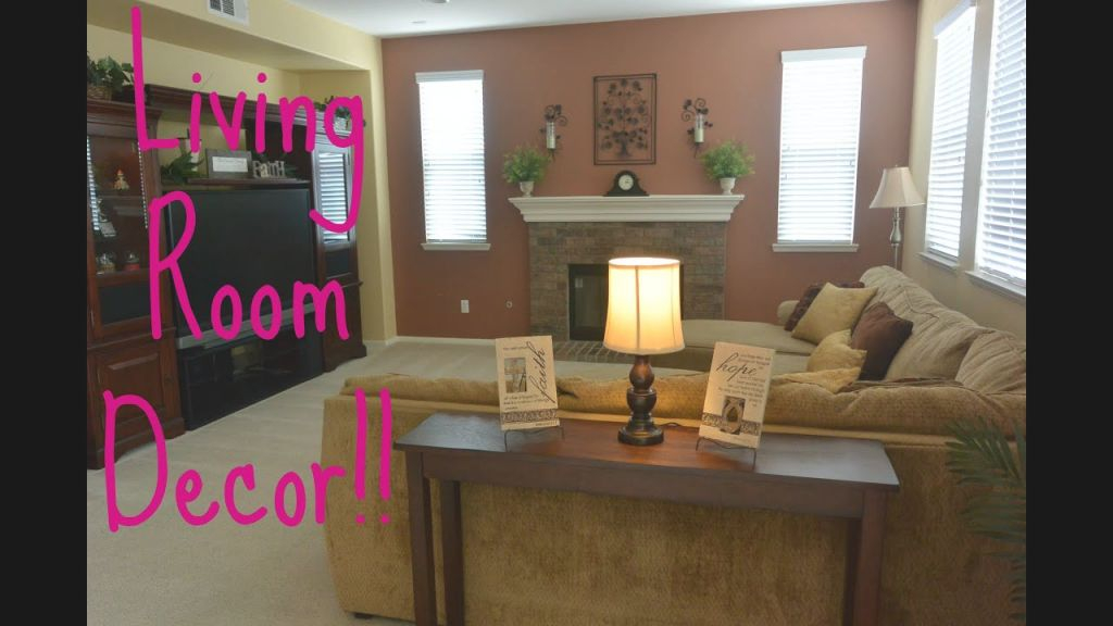 Simple Living Room Decor!!! with regard to Sample Living Room Decor