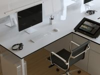 simple-minimalist-home-office-design-white-desk