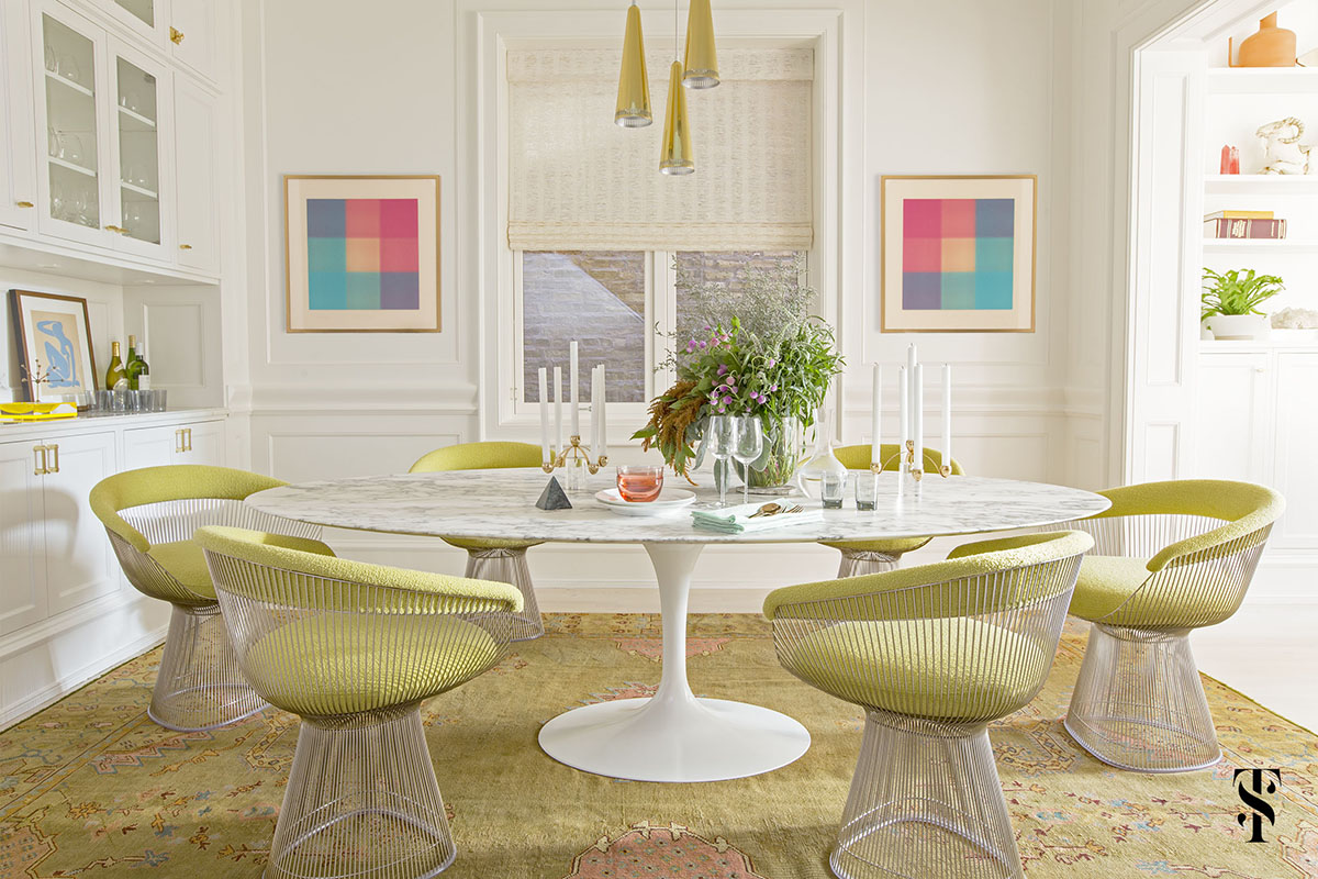 sixties-inspired-colourful-dining-area