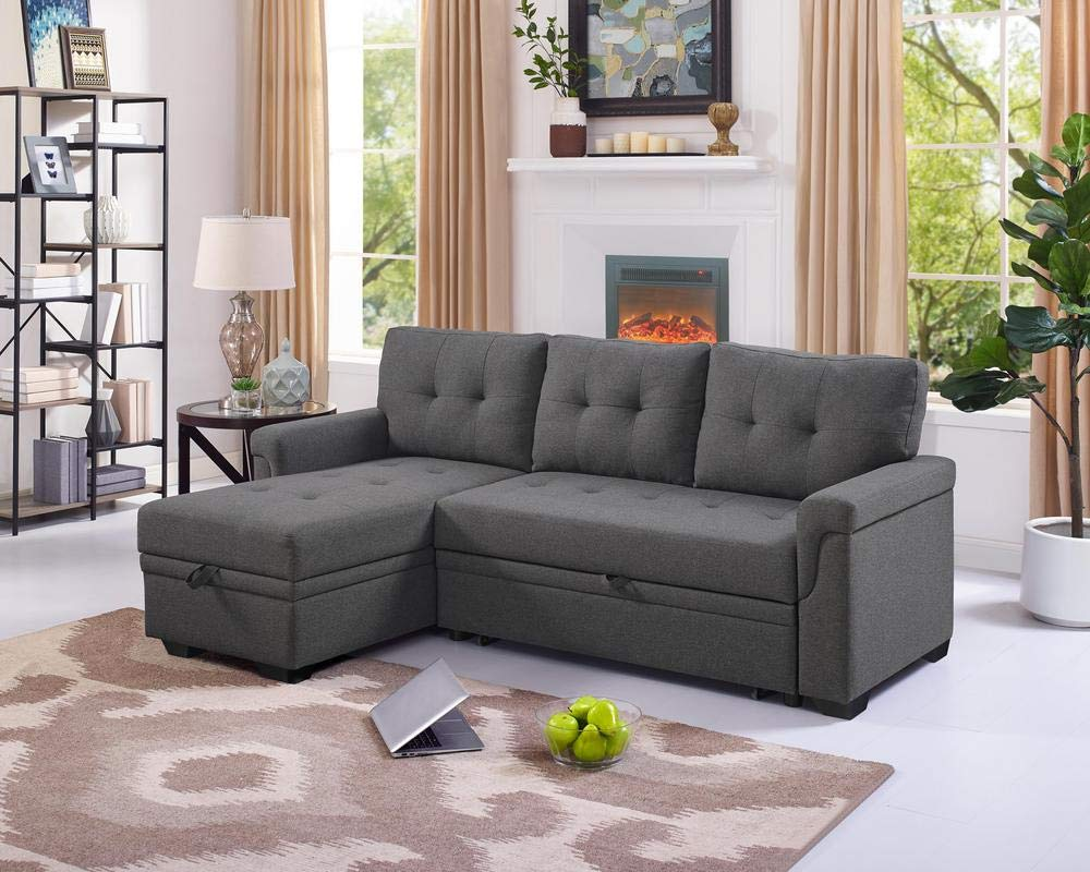 - Small-sectional-sleeper-sofa-inexpensive-modern-design - Awesome