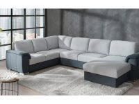 two-tone-u-shaped-sectional-sofa-with-pull-out-sleeper-bed
