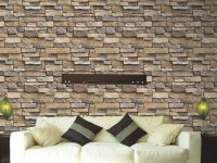 Us $0.4 36% Off|3D Stone Brick Wallpaper Removable Pvc Wall Sticker Home Decor Art Wall Paper For Bedroom Living Room Background Decal-In Wallpapers throughout New Wallpaper Decoration For Living Room