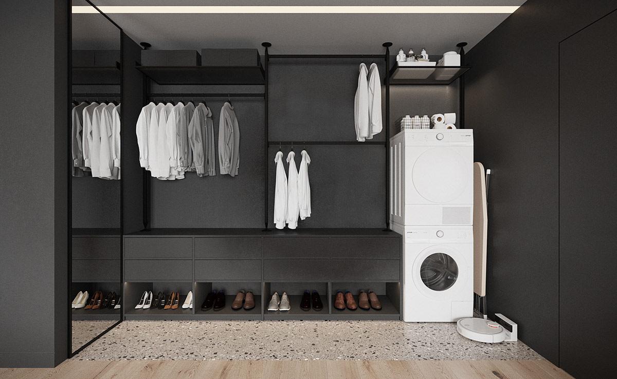walk-in-wardrobe-with-washing-machine