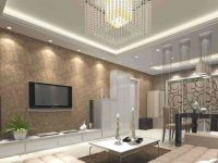 Wallpapers For Living Room Design Ideas In Uk within New Wallpaper Decoration For Living Room