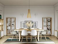 white-and-wood-dining-room-slatted-lantern