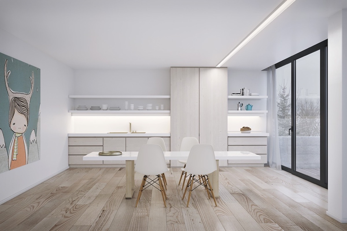 white-and-wood-dining-room