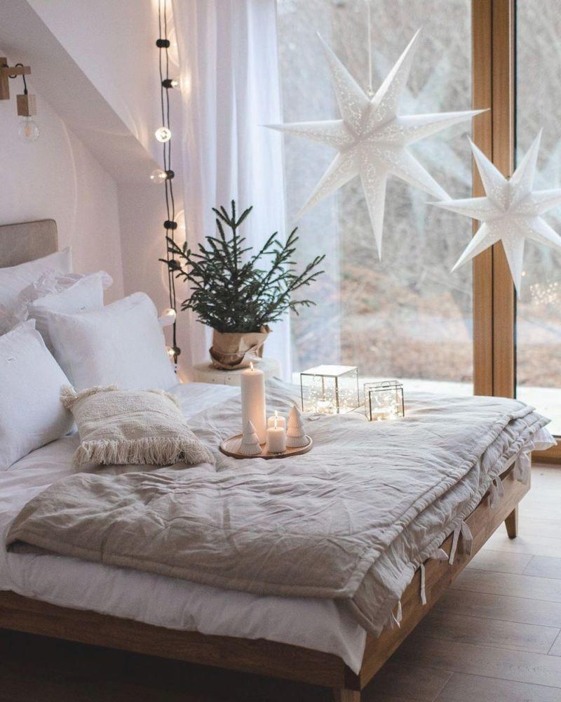 10 Scandinavian Christmas Bedroom Decor Ideas with regard to Cheap Bedroom Decor Ideas