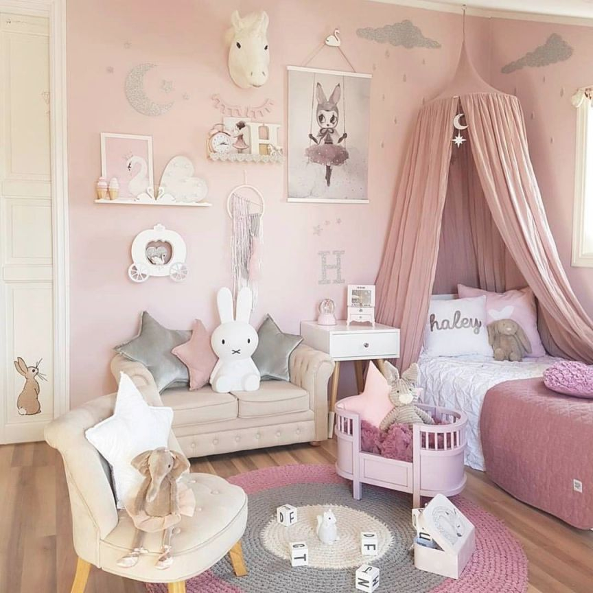 12 Fun Girl's Bedroom Decor Ideas – Cute Room Decorating In regarding Best of Decoration Ideas For Little Girl Bedrooms