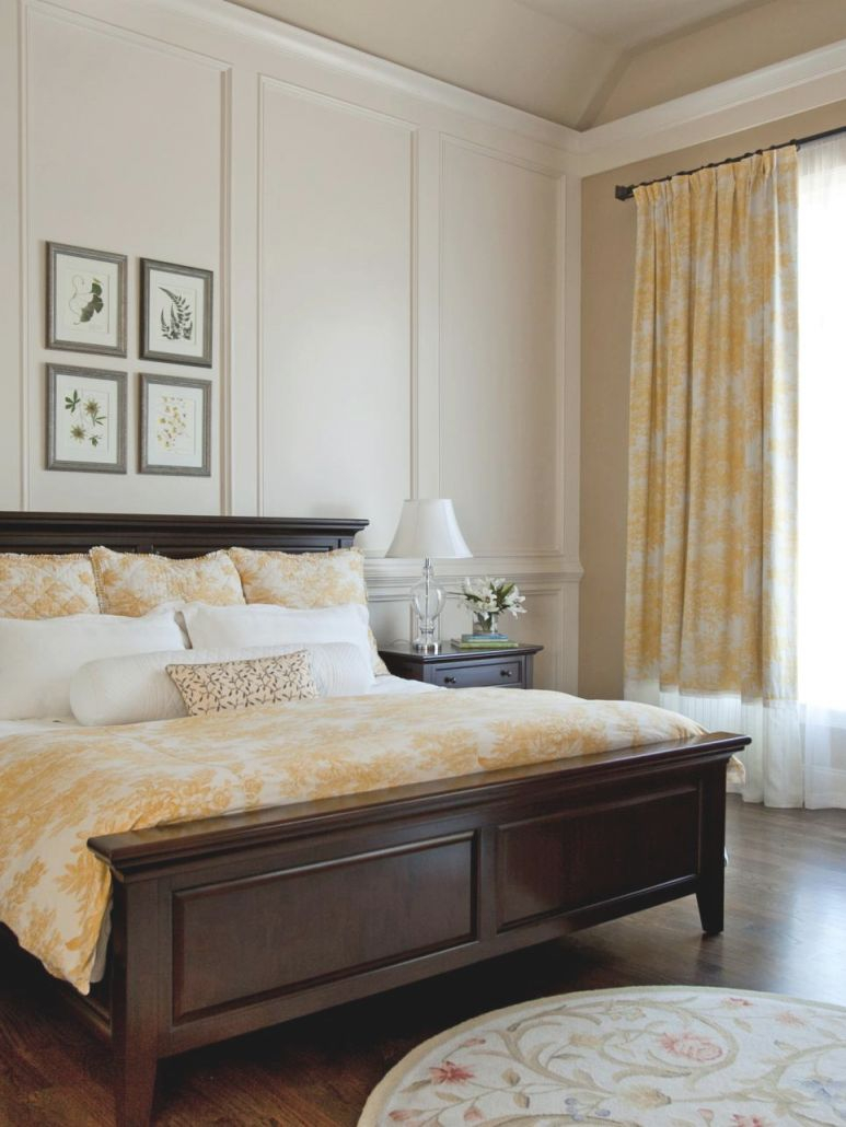 15 Cheery Yellow Bedrooms | Hgtv pertaining to Beautiful Taupe Bedroom Decorating Ideas