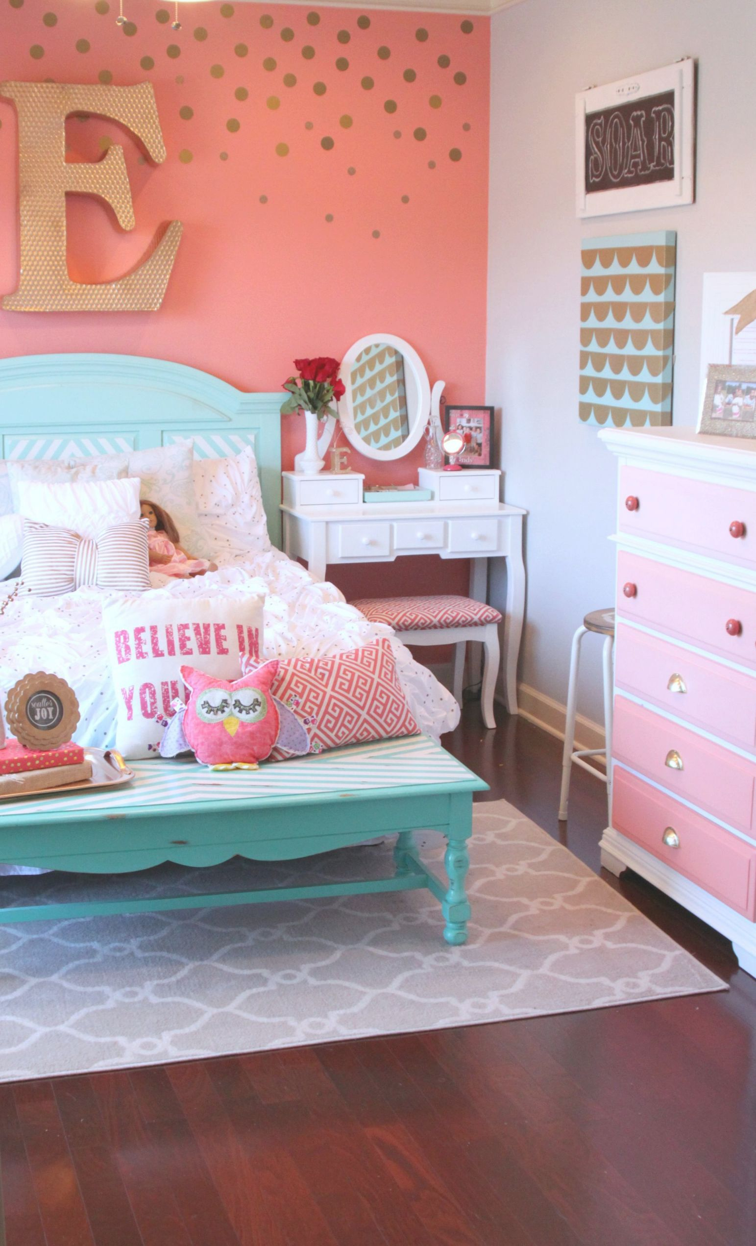 15 Girls' Room Ideas — Baby, Toddler & Tween Girl Bedroom within Beautiful Bedroom Decorating Ideas For Girls