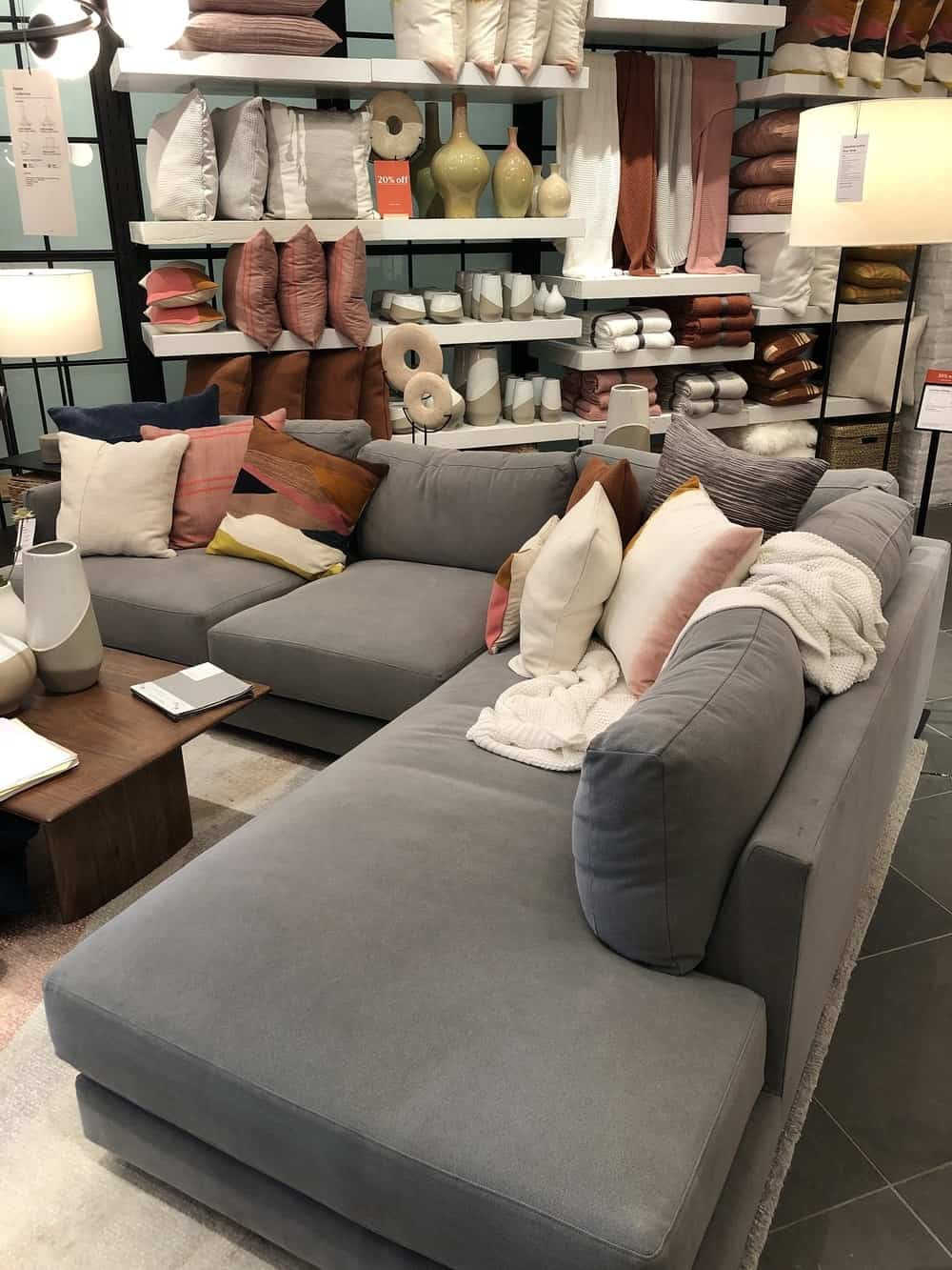 Haven sofa by west elm