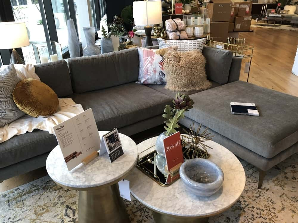 Andes sofa by west elm