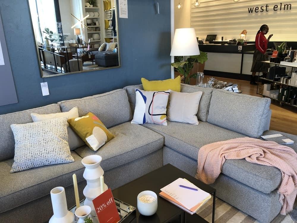 Harris sofa by west elm