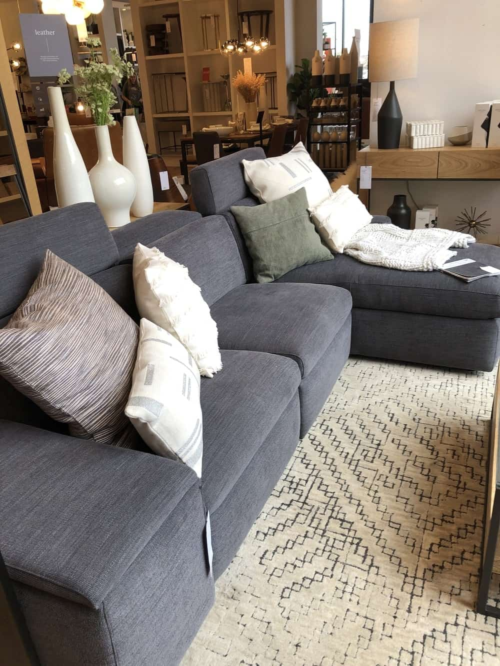 Enzo sofa by west elm