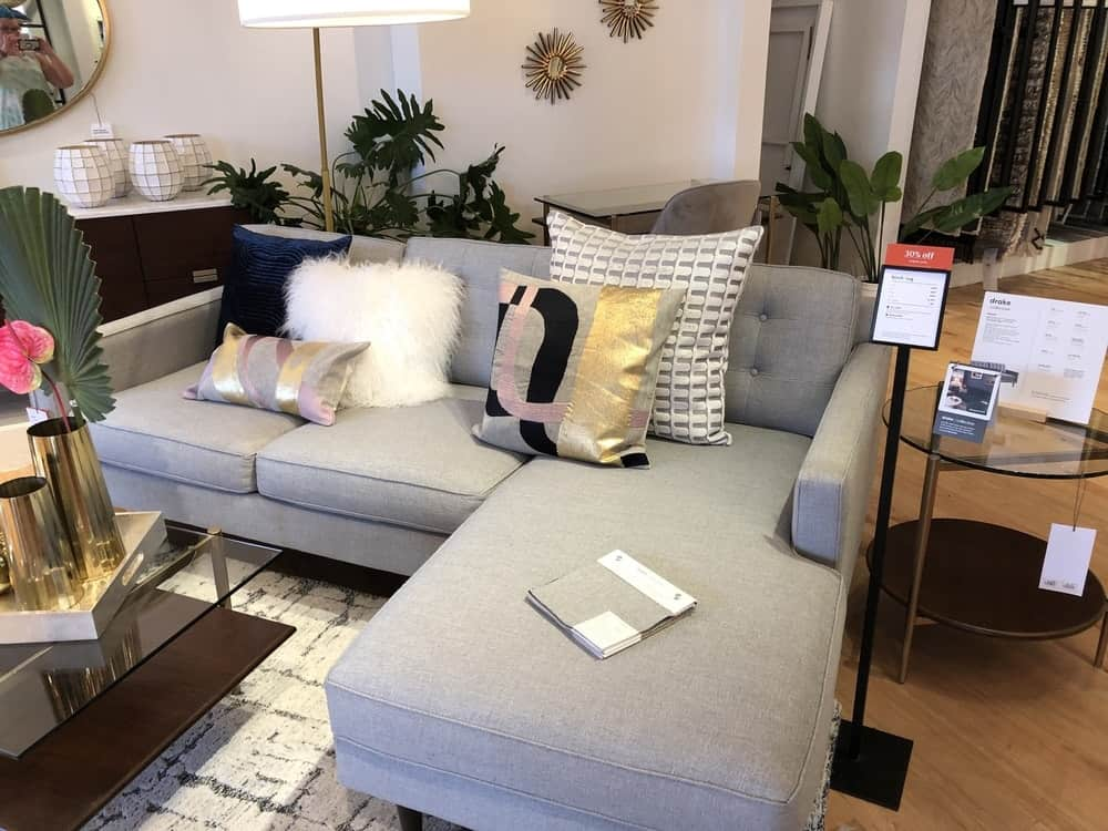 Drake sofa by west elm