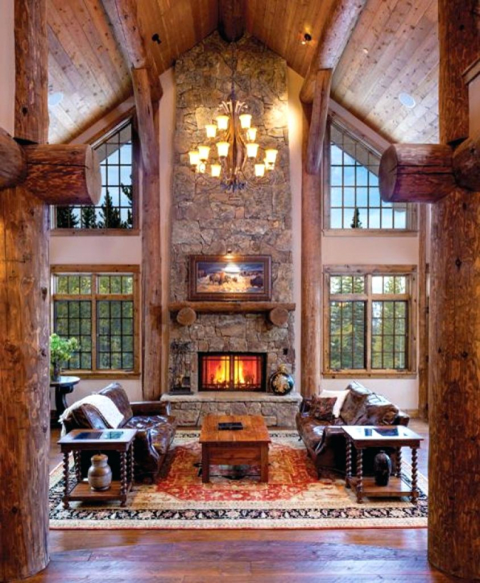 19 Log Cabin Home Décor Ideas pertaining to Inspirational Cabin Bedroom Decorating Ideas