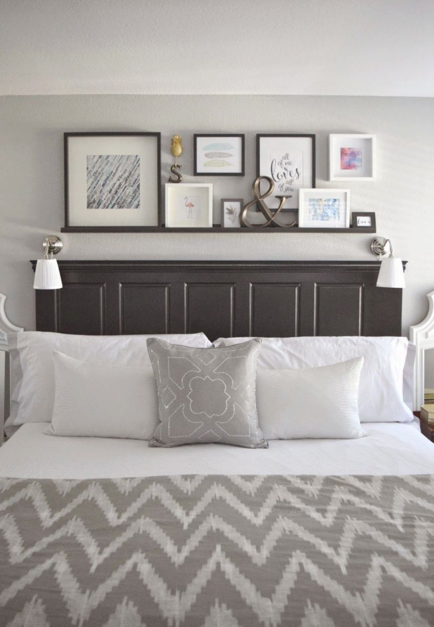 20 Decorating Tricks For Your Bedroom | Small Master Bedroom intended for Master Bedroom Wall Decor Ideas