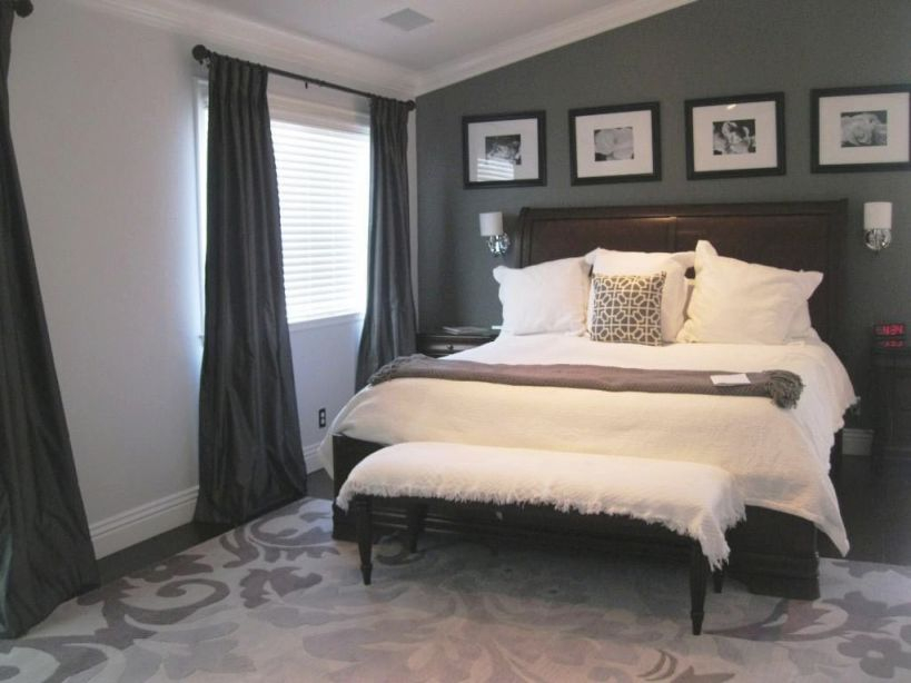 20+ Exciting Grey Bedroom Ideas For Having A Beautiful Bedroom for Elegant Bedroom Decorating Ideas Grey And White
