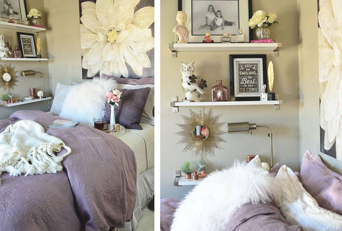 20 Ways To Decorate A Small Bedroom | Shutterfly within Decorating Ideas For Small Bedroom