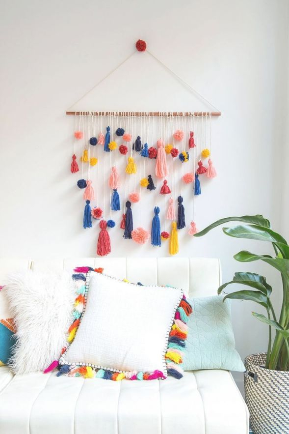 21 Easy Wall Decor Diy Living Room Art Ideas | Diy Home throughout Wall Decor Ideas For Bedroom Diy