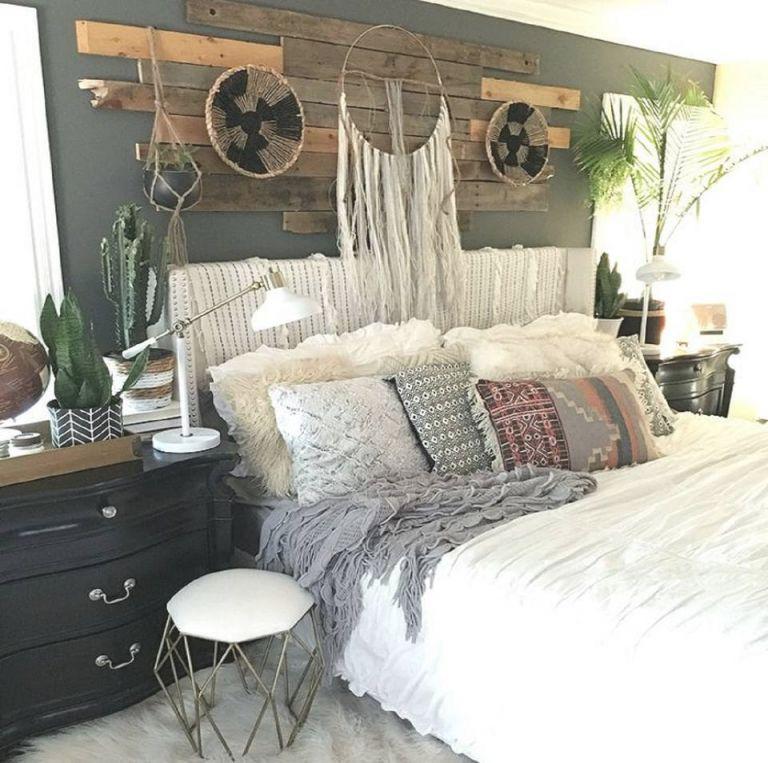 22 Beautiful Boho Bedroom Decorating Ideas regarding Cheap Bedroom Decor Ideas