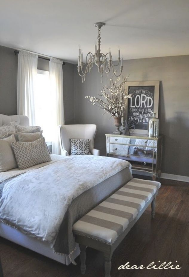 23 Best Grey Bedroom Ideas And Designs For 2020 intended for Elegant Bedroom Decorating Ideas Grey And White