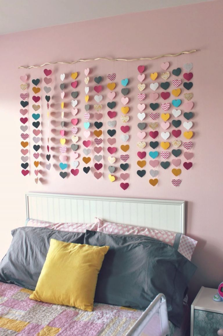24 Wall Decor Ideas For Girls' Rooms throughout Ideas To Decorate My Bedroom