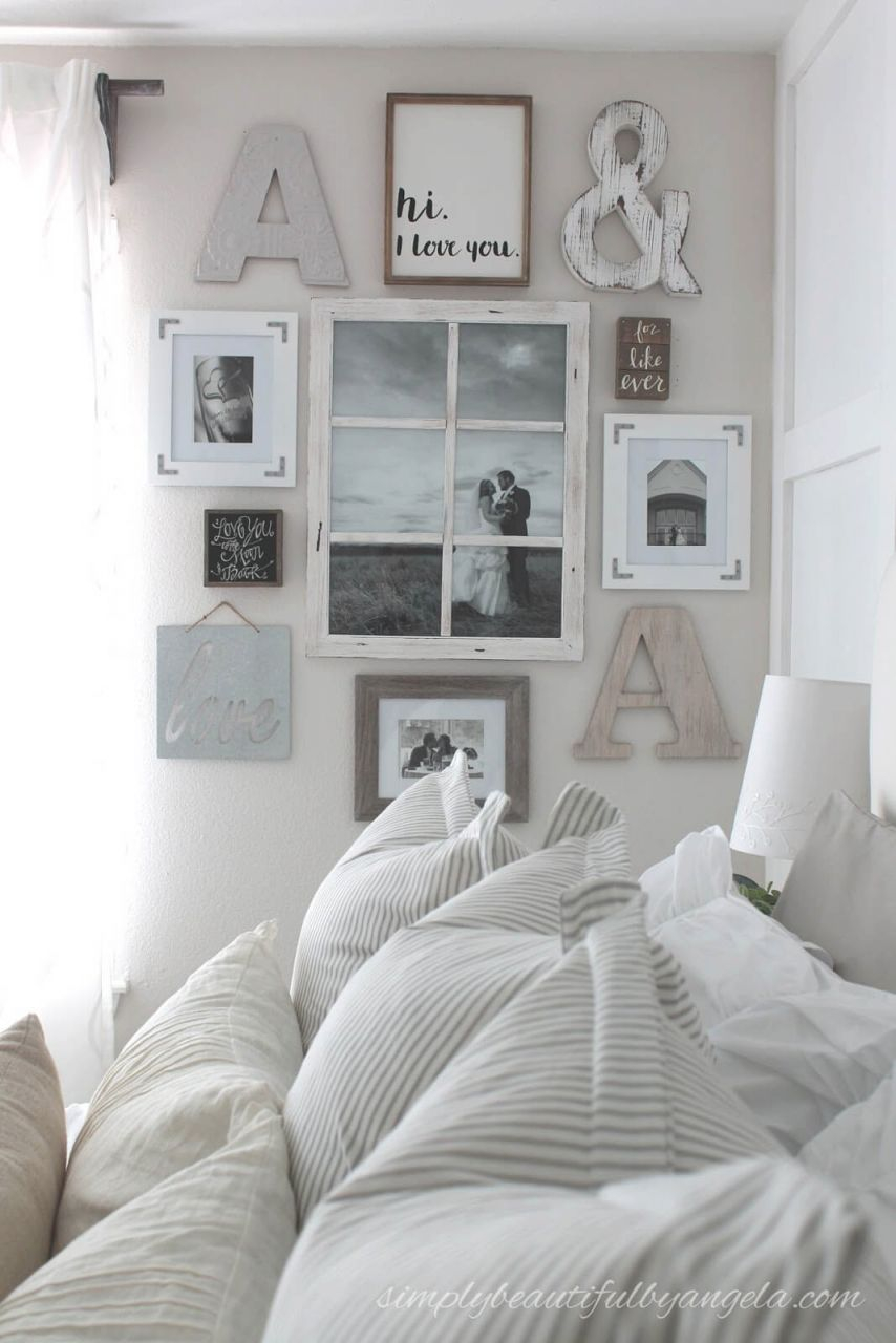 25+ Best Bedroom Wall Decor Ideas And Designs For 2020 intended for Wall Decoration Ideas For Bedrooms