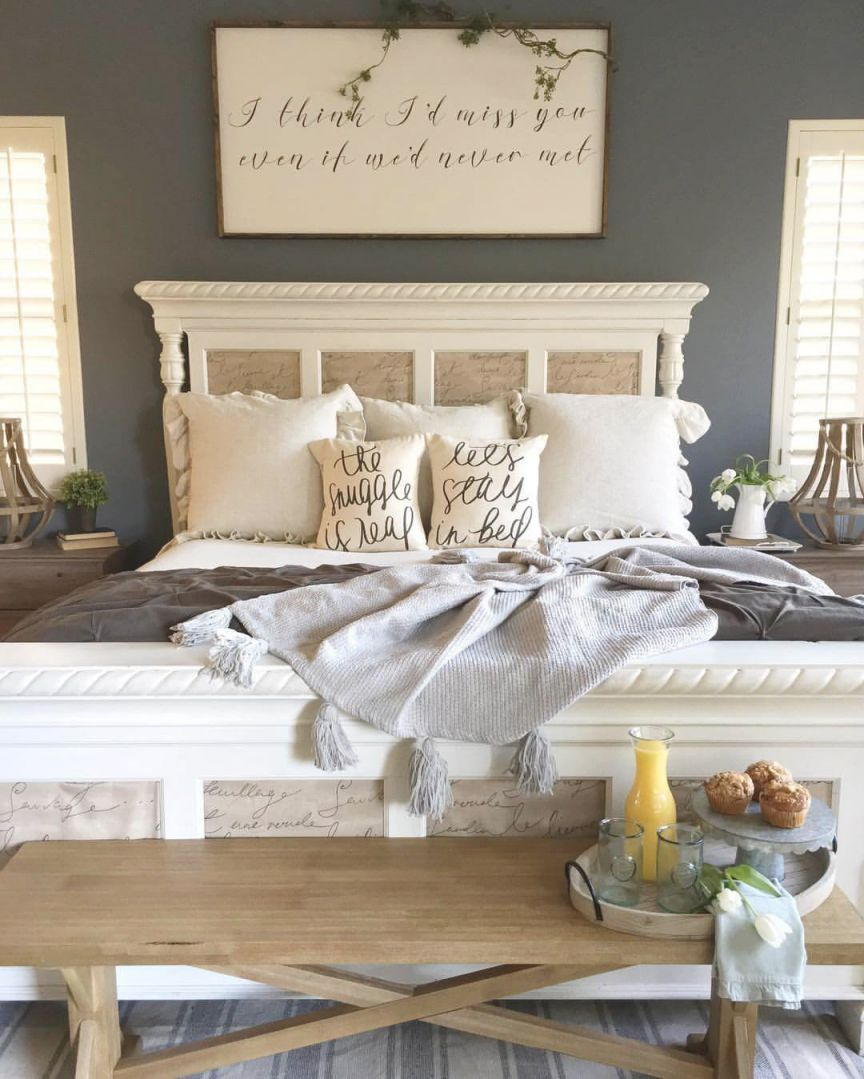 25+ Best Romantic Bedroom Decor Ideas And Designs For 2020 throughout Cheap Bedroom Decor Ideas