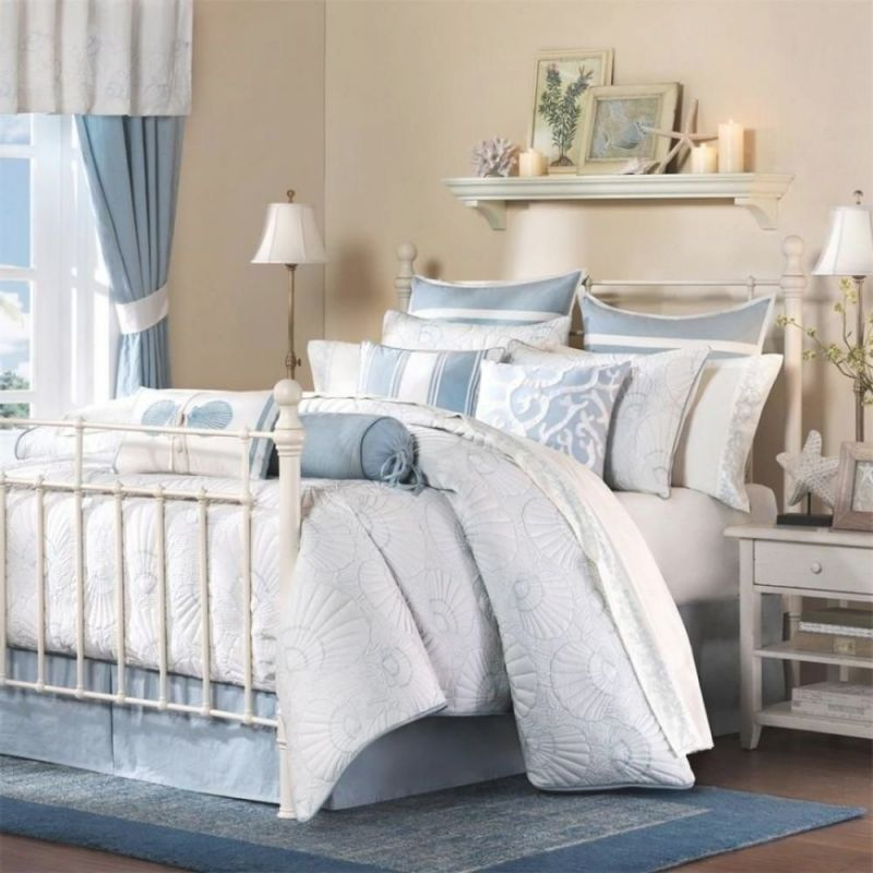 25 Cool Beach Style Bedroom Design Ideas | Bedroom Themes in Beach Theme Bedroom Decorating Ideas