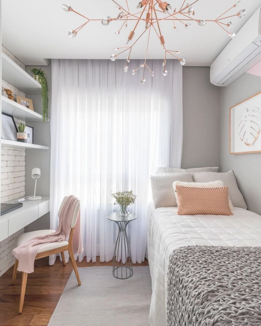 25 Small Bedroom Ideas That Are Look Stylishly Space Throughout Decorating For Teenage Girl Awesome Decors
