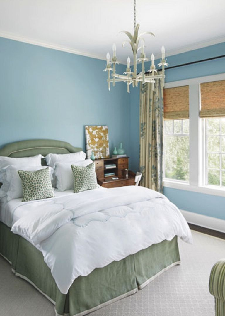 25 Stunning Blue Bedroom Ideas intended for Blue And Green Bedroom Decorating Ideas